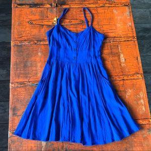 EXPRESS Blue Dress